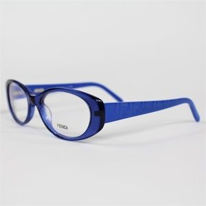 Fendi Glasses F 907 Transparent Blue 49mm Eyeglass